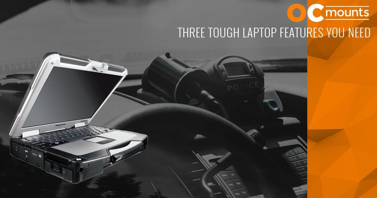 Tough laptop features
