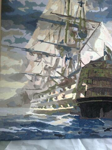Galleon by Ian