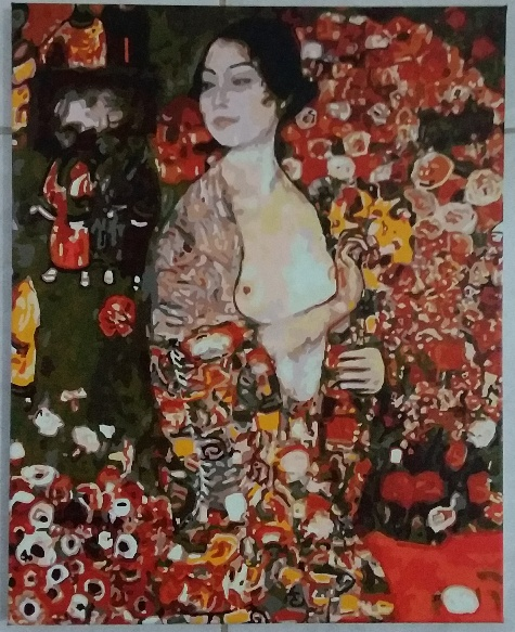 Klimt's The Dancer by Lynda