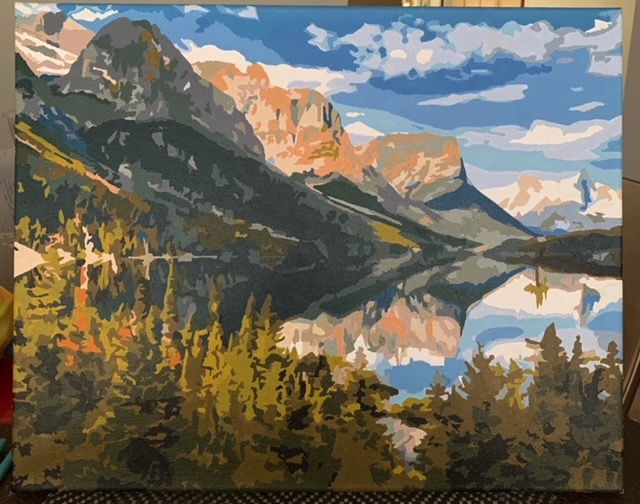 Paint by Numbers - Alaska by Bob McP