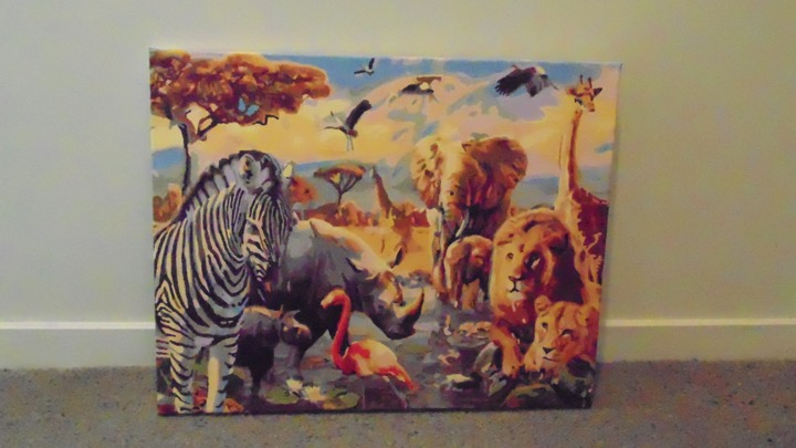Animal Jungle Paint by Numbers by Maryanne