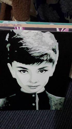 audrey Hepburn by Carmen