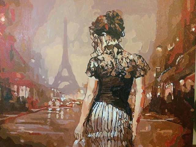 Paint by Numbers - The Beauty of Paris by David P