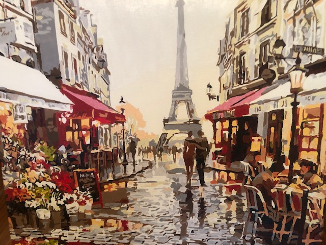 Cafe in Paris by Christine R