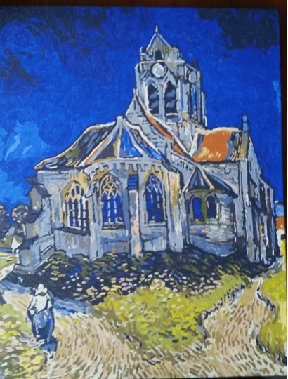 Van Gogh's Church painted by Lynda