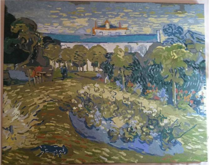 daugbigny garden by Lynda
