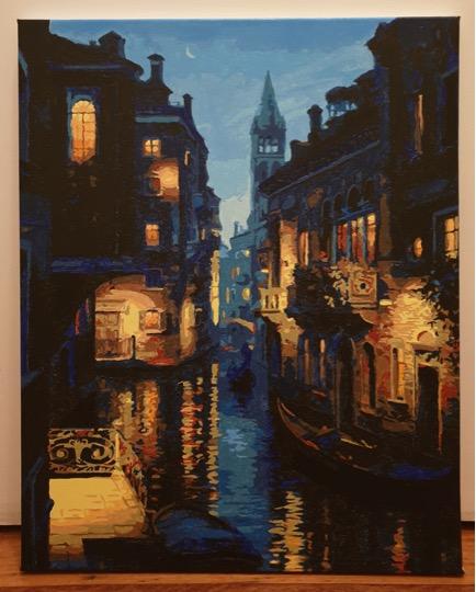 Evening Venice by Belinda V