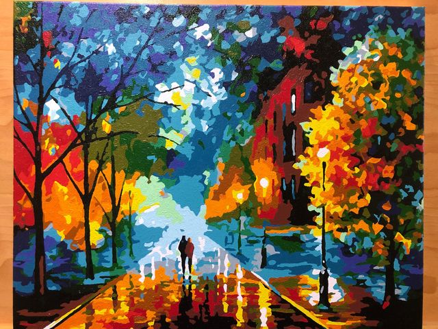 Paint by Numbers - Freshness of Cold by Linda S