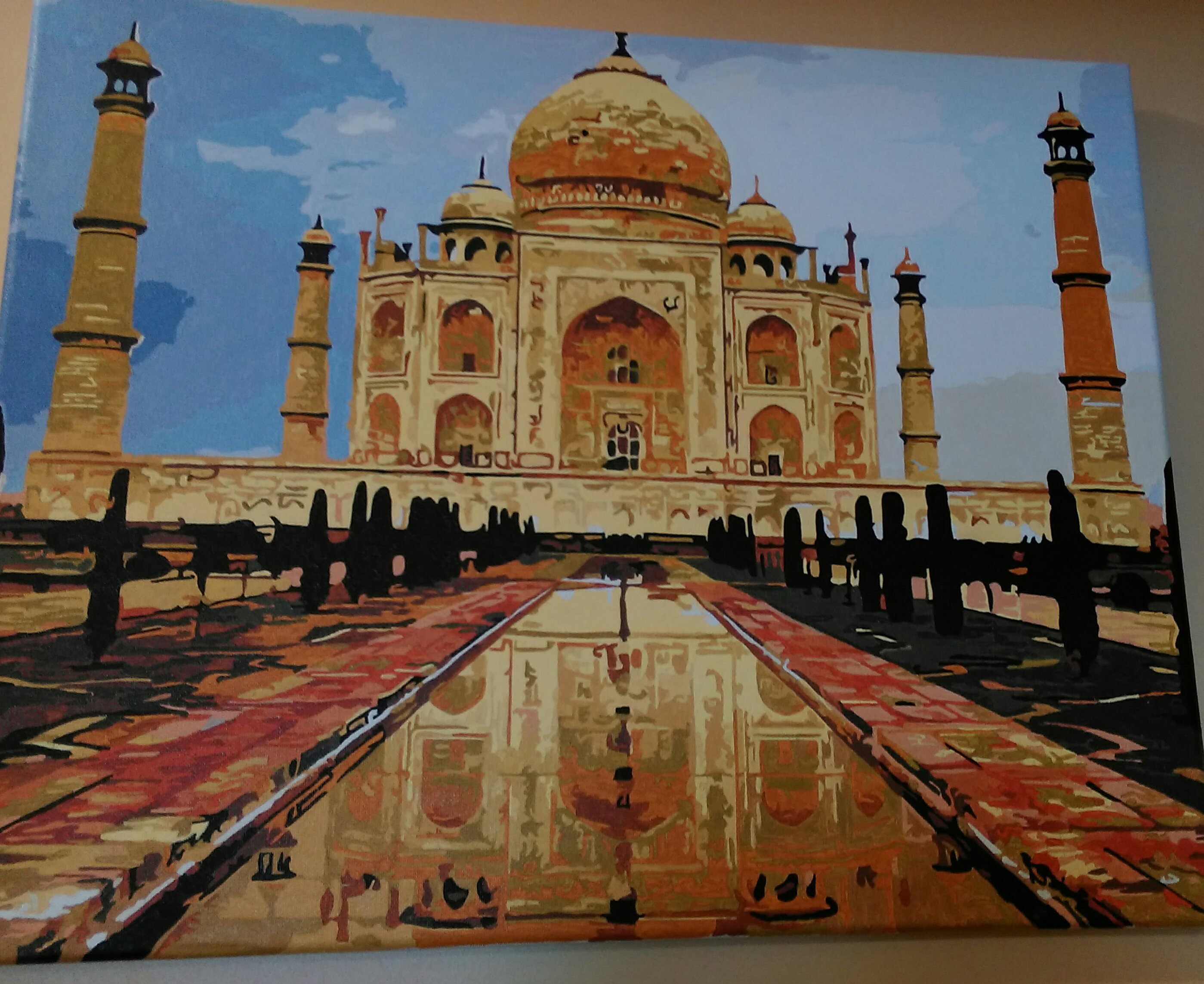 Taj Mahal by Joan M