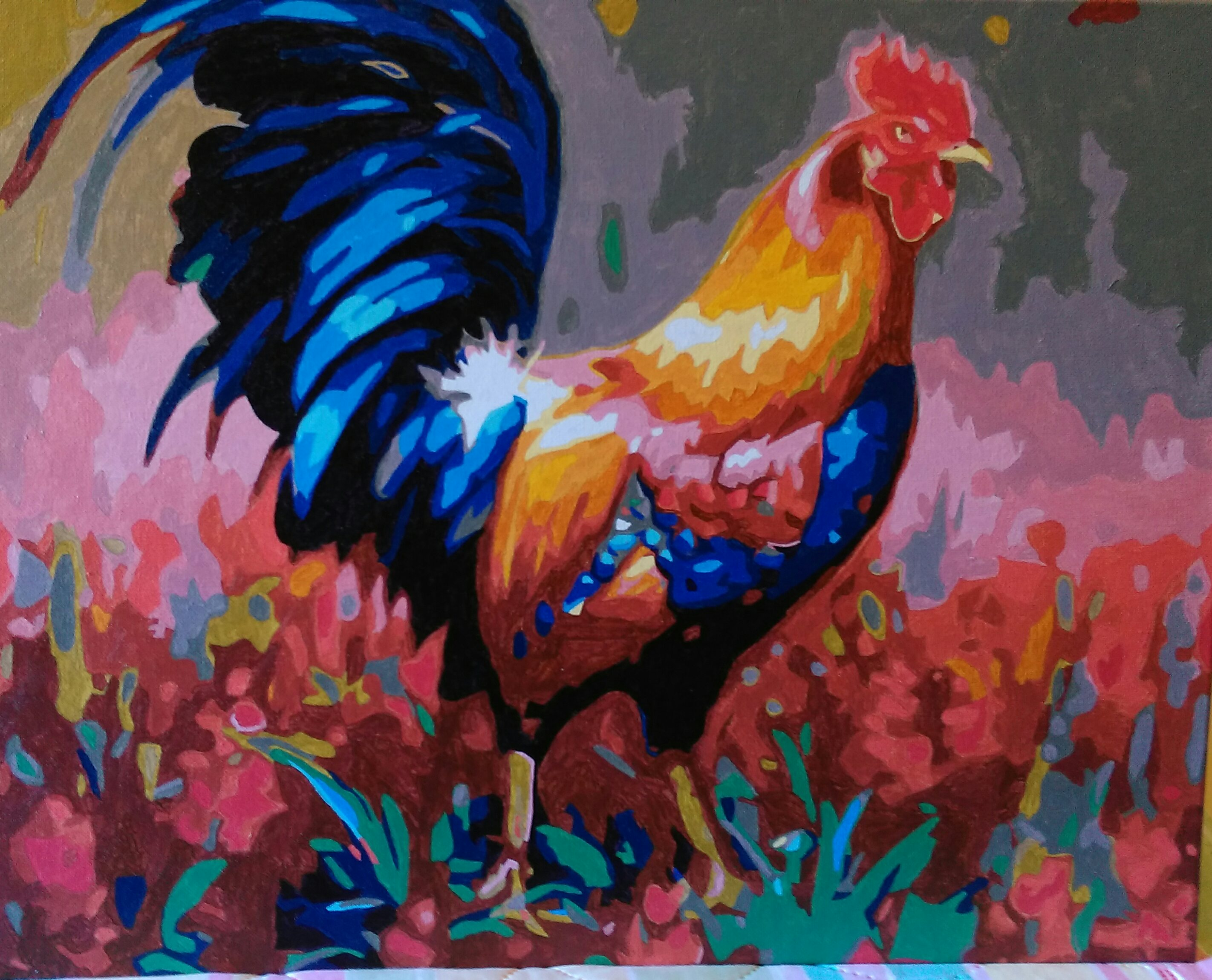 Rooster by Joan M