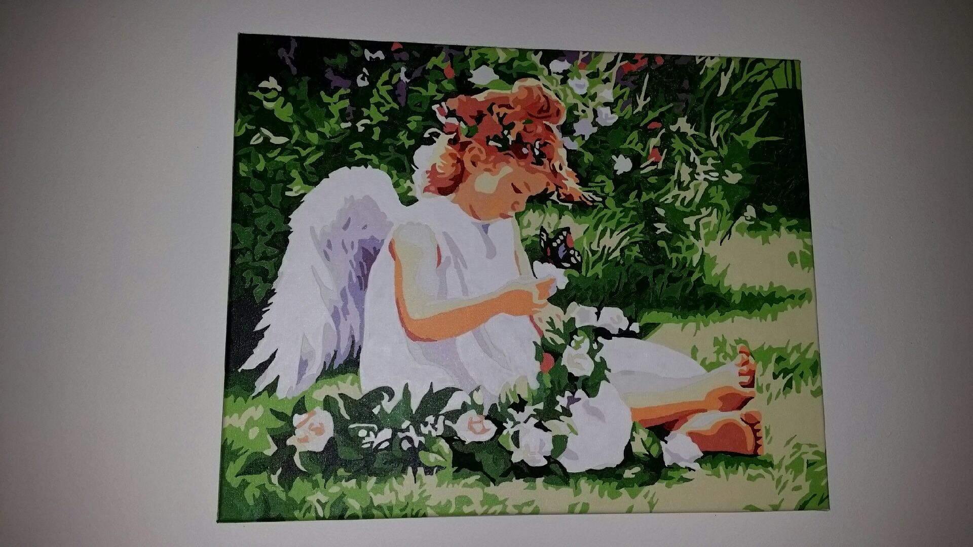Garden Angel by Astrid