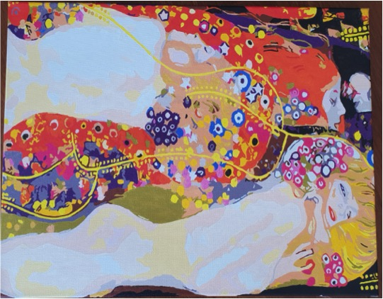 Paint by Numbers Kit - Klimt's the Serpent by Lynda