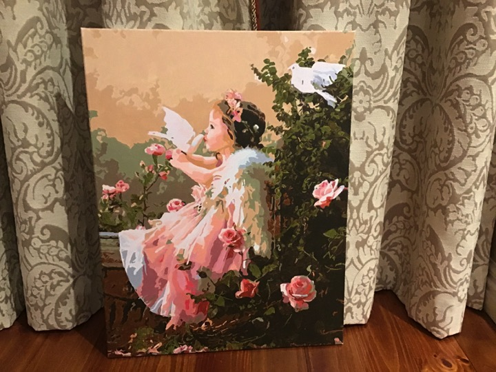 Paint by Numbers - Little Angel by Sandra J