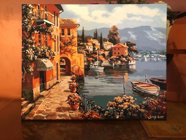 Mediterranean Riverwalk by Christine R