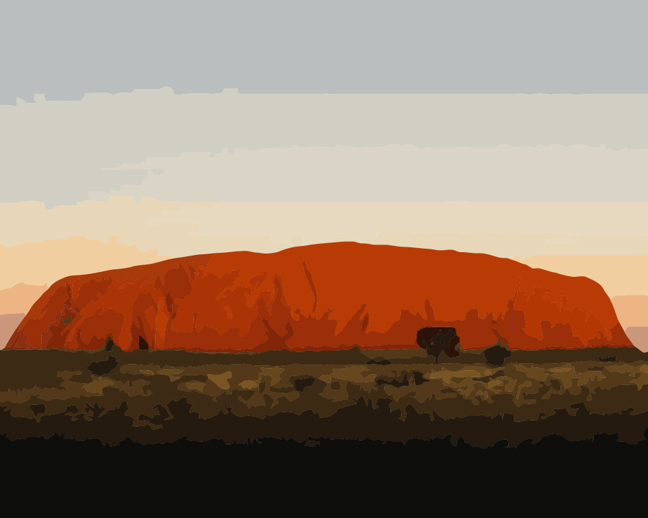 Paint by Numbers Kit - Uluru
