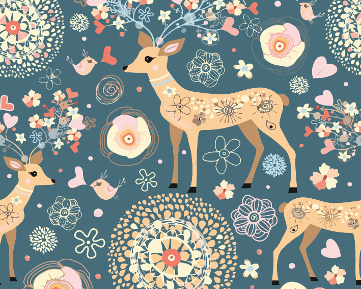 Paint by Numbers Kit - Deer in My Dream