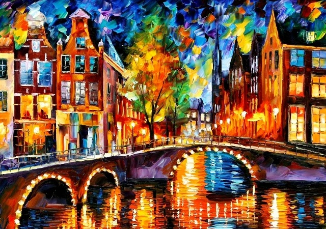 Paint by Numbers - The Bridges of Amsterdam