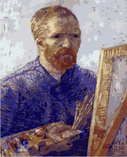 Paint by Numbers Kit - Van Gogh