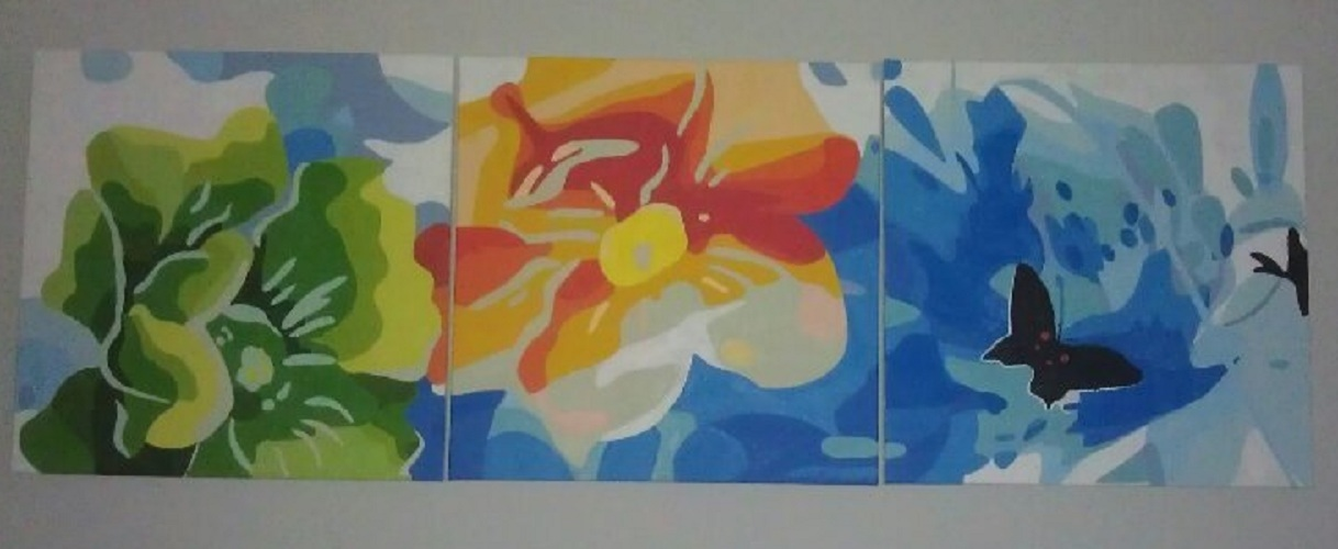 painting by numbers - flower language
