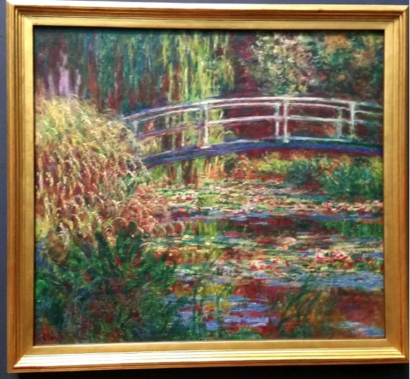 Original Monet's Water Lily Pond
