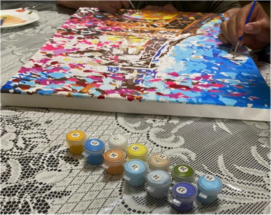 Relax and Enjoy Painting by Numbers with Family and Friends