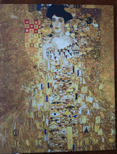 Klimt's Portrait of Adele Bloch Bauer by Lynda