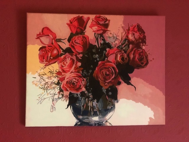 Red Roses by Christine R