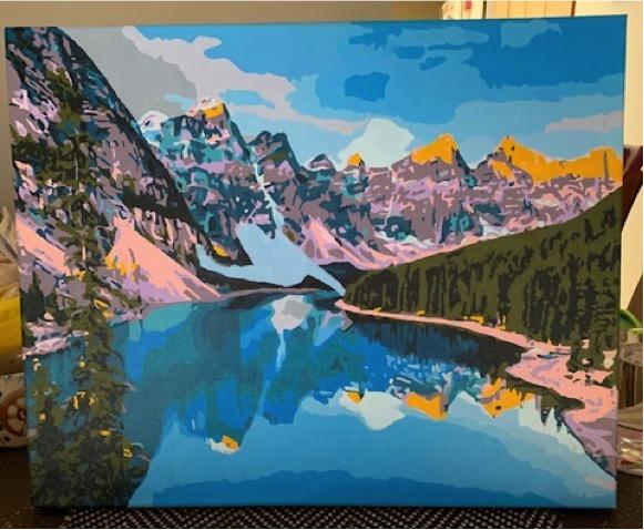 Paint by Numbers - Alaska in Spring by Robert McP