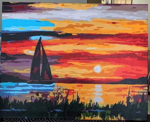 Paint by Numbers - Sail Under the Sunset by Bob McP