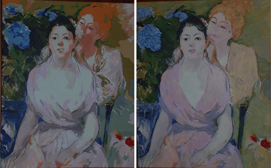 Morisot Hydrangea and Sisters by Lynda