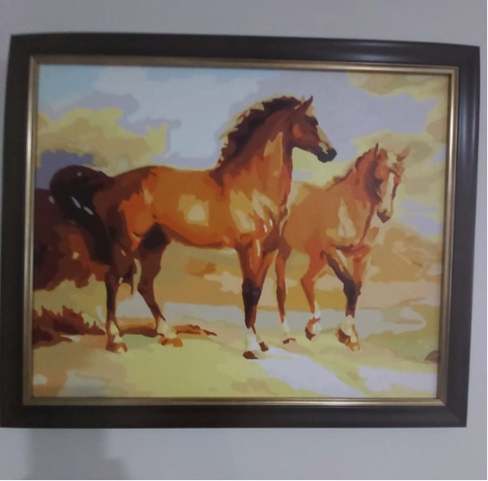 Paint by Numbers - Stallions by David McR