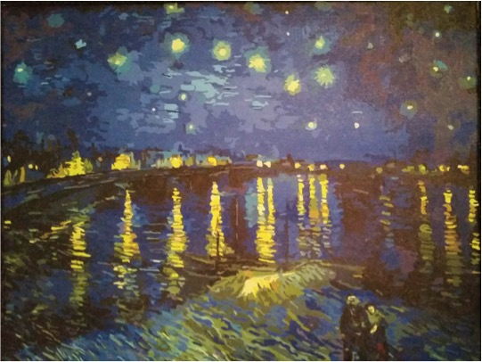 Van Gogh Starry Night over the Rhone by Lynda