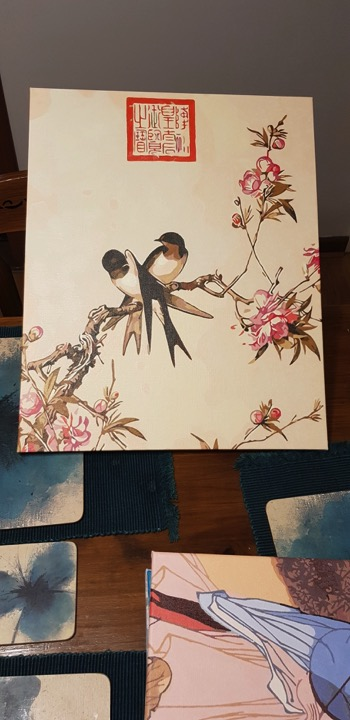 Swallows by Christine O