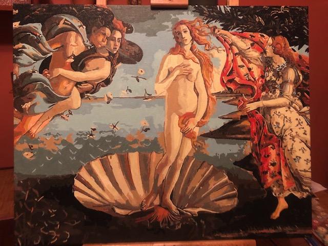 The Birth of Venus by Christine R