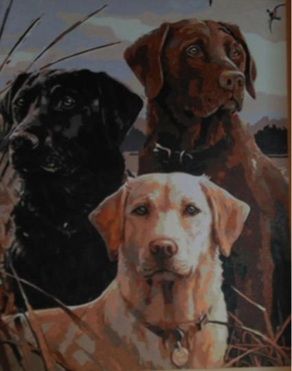 Three Musketeers by Joan