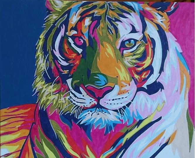 Tigress by Joan M