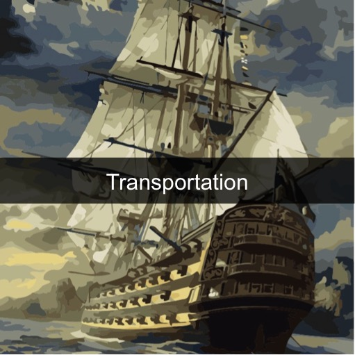 Paint by Numbers Kits - Transportation