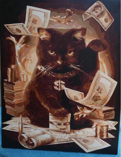 Wealthy Cat by Joan M