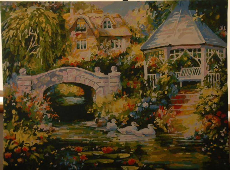 60x80cm - Magical Garden by Wyn