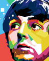 Colourful Paul McCartney