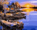 Sunrise in Fishing Village