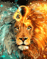 Leo Paint by Numbers
