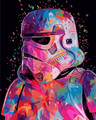 Storm Trooper Paint by Numbers