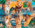 Feline Family Paint by Numbers