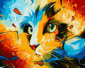 Magical Cat paint by numbers