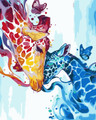 Colourful Giraffe Bonding