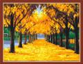 Golden Leaves Trees