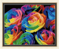 Painting by Numbers Kit - 40x50cm - Colourful Roses