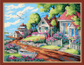 Painting by Numbers Kit - 40x50cm - Leafy Beach House
