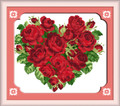 Cross Stitch Kits - Red Heart Blossoms